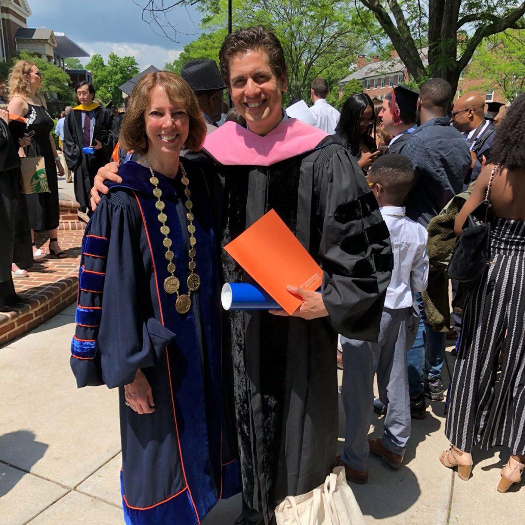 Gettysburg Graduation 2020.Francisco J Nunez Receives Honorary Doctor Of Music Degree